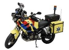 Mentőautó és mentőmotor