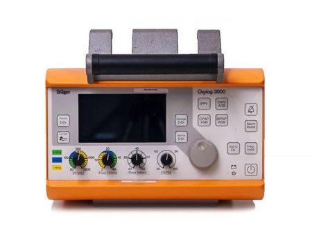 OXYLOG 3000 - Hordozható lélegeztetőgép