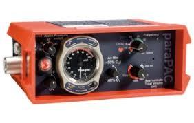 Pneupac ParaPac - Hordozható lélegeztetőgép