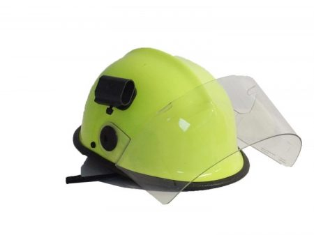 Védősisak - Safety Helmet Pacific Yellow outerscreen - with lightholder