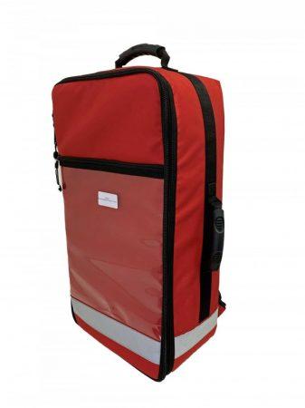 LUCAS 2 CPR - piros hátizsák